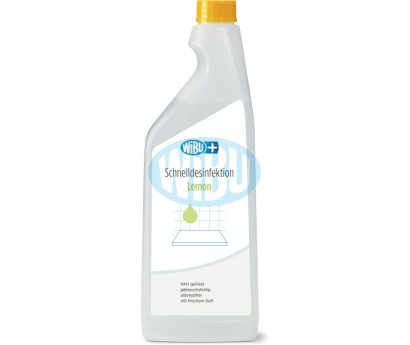 WiBUplus Schnelldesinfektion Lemon 750 ml